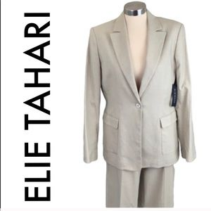 🆕 ELIE TAHARI NEW BLAZER / PANT SUIT 💯AUTHENTIC